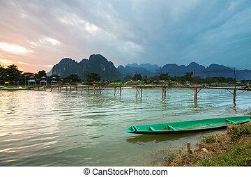 Vang Vieng in Laos