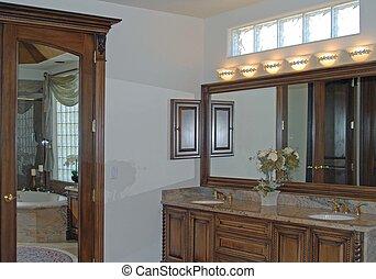 vanidad, cuarto de baño
