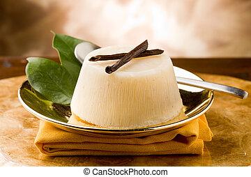 Vanilla Orange Pudding - photo of delicious vanilla orange...