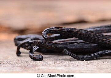 vanilla pods high resolution image