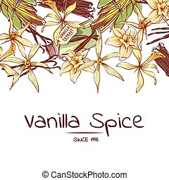 Vanilla spice poster for advertising company