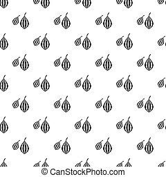 Vanilla sticks with a flower pattern vector