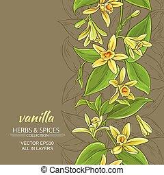 vanilla vector background