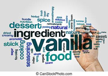 Vanilla word cloud