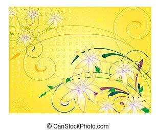 vanilla5, fleurs