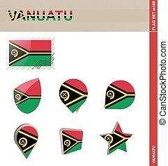 Vanuatu Flag Set, Flag Set #189