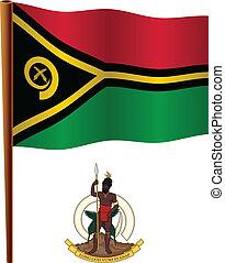 vanuatu wavy flag