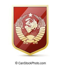 vapensköld, sovjetisk sammanslagning