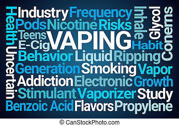Vaping Word Cloud