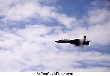 Vapor Barrier Triangle - Airshow San Antonio TX Nov. 7,...