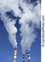 vapor, fábrica