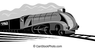 vapor, locomotiva