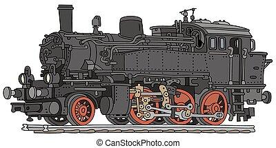vapor, locomotora