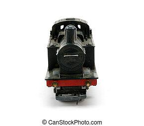 vapor, shunter, motor, modelo, frente