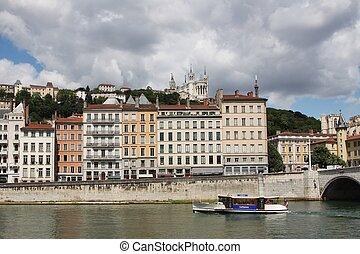 Vaporetto of Lyon
