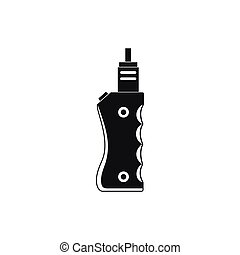 Vaporizer device icon, simple style
