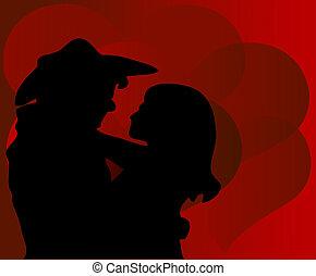 vaquero, valentine