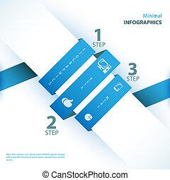 vara, använd, färg, nymodig, design, kan, mall, infographics...