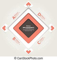 vara, använd, nymodig, design, kan, mall, infographics