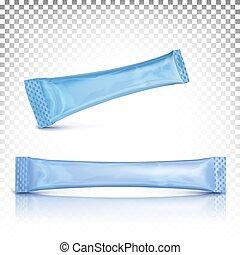 vara, longo, cima, azul, modelo, apresentação, escarneça, ...