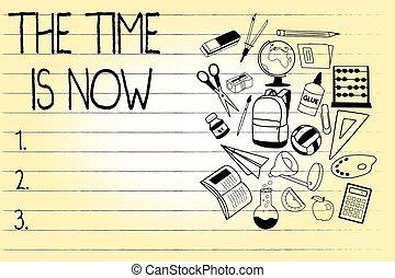 vara, now., begrepp, ord, dont, affär, text, uppmuntrande, skrift, sent, start, någon, tid, i dag