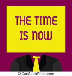 vara, now., någon, dont, affär, foto, visande, tid, uppmuntrande, skrift, sent, start, text, begreppsmässig, hand, i dag
