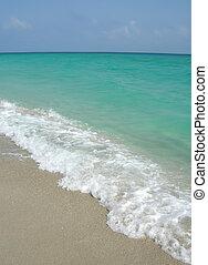 varadero, tengerpart, kuba