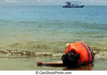 varado, playa