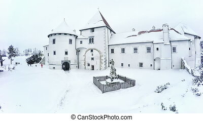 Varazdin Castle in Croatia