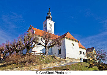 Varazdinske toplice - church on hill