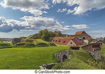 Varberg Fort in Sweden