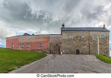Varberg Fortress in Sweden