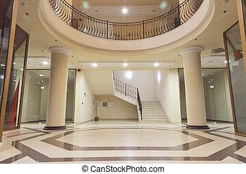 vardagsrum, av, a, köpcenter