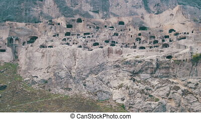 Vardzia, Georgia. An ancient city in the rock