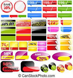varejo, vendas, etiquetas