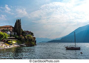 Varenna on lake Como, Italy travel