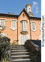 Varese (Italy): Villa Mirabello in the Giardini Estensi -...