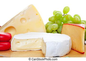 variété, fromages