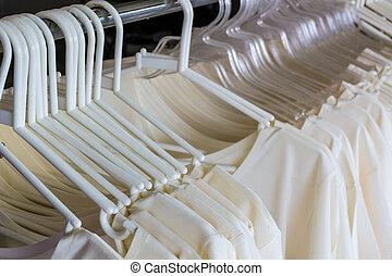 variëteit, hemd, clothes., veelkleurig