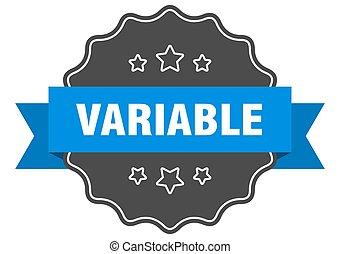 variable, seal., señal, aislado, label., sticker.