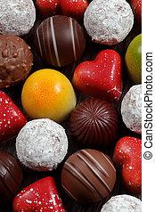 variado, chocolates