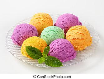 variado, helado