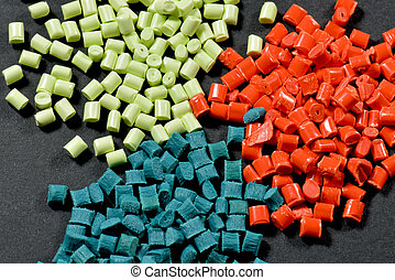 dyed polymer resin - variation of dyed polymer resins for...