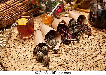 Variations of seasoning for tea. - Variations of seasoning ...
