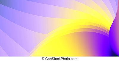 varicoloured, fuerza, Expresar, Color, Extracto, líneas,...