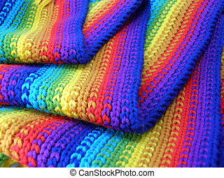 varicoloured scarf