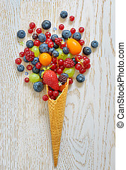 variedade frutas