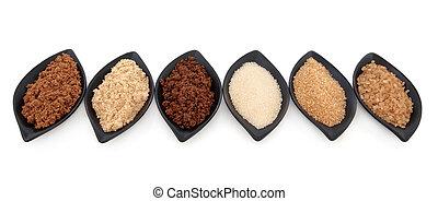 variedades, azúcar