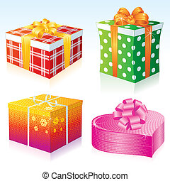 Gift Boxes - Variety colorful Gift Boxes collection