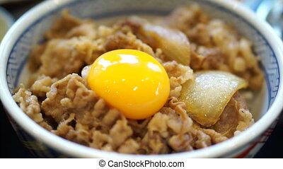 Variety kind of Japanese food
